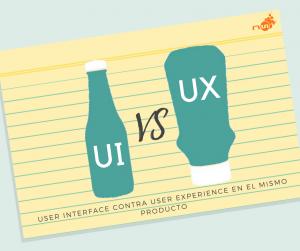 botella de ketchup UI frente a botella de detchup boca abajo UX